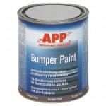 APP Автоэмаль для бампера BUMPER PAINT серая 1л