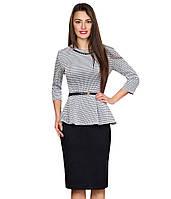 Костюм женский блузка с баской