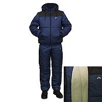 Мужские зимние спортивные костюмы на синтепоне на овчине  F1517H