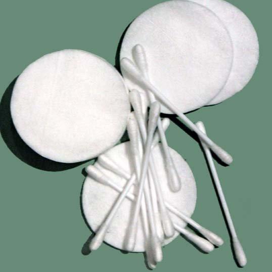 Палочки и диски ватные