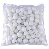 Кульки для настільного тенісу (100шт) PRO-513 (пластик, d-40мм, білі, жовті, кол..картон.коробка)