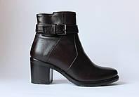 Шикарные кожаные зимние ботинки Oto, Италия-Оригинал