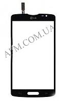 Сенсор (Touch screen) LG D373 Optimus L80 Blanco/  D375 черный