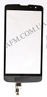 Сенсор (Touch screen) LG D335L/  D331 Bello Dual серый оригинал