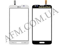 Сенсор (Touch screen) LG D280 Optimus L65 Dual белый