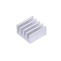 Алюминиевый радиатор охлаждения 8.8x8.8x5 мм. теплоотвод.