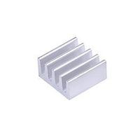 Алюминиевый радиатор охлаждения 8.8x8.8x5 мм. теплоотвод