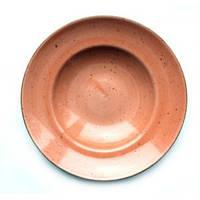 Тарелка для пасты 27 см Kaszub Hel Lubiana персиковая