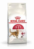 Royal Canin FIT32 10кг - корм для взрослых кошек в возрасте cтарше 1 года, бывающих на улице