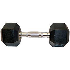 Гантель шестигранная гексагональная 35 кг SC-8013-35