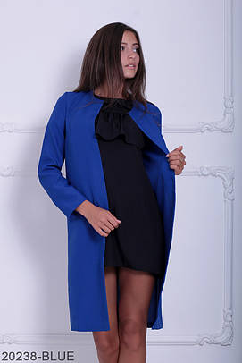 Жіночий літній синій кардіган Classic Розпродаж (XXL)