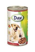 Консервы Dax®(Дакс, Венгрия) для собак с говядиной, 1240г.