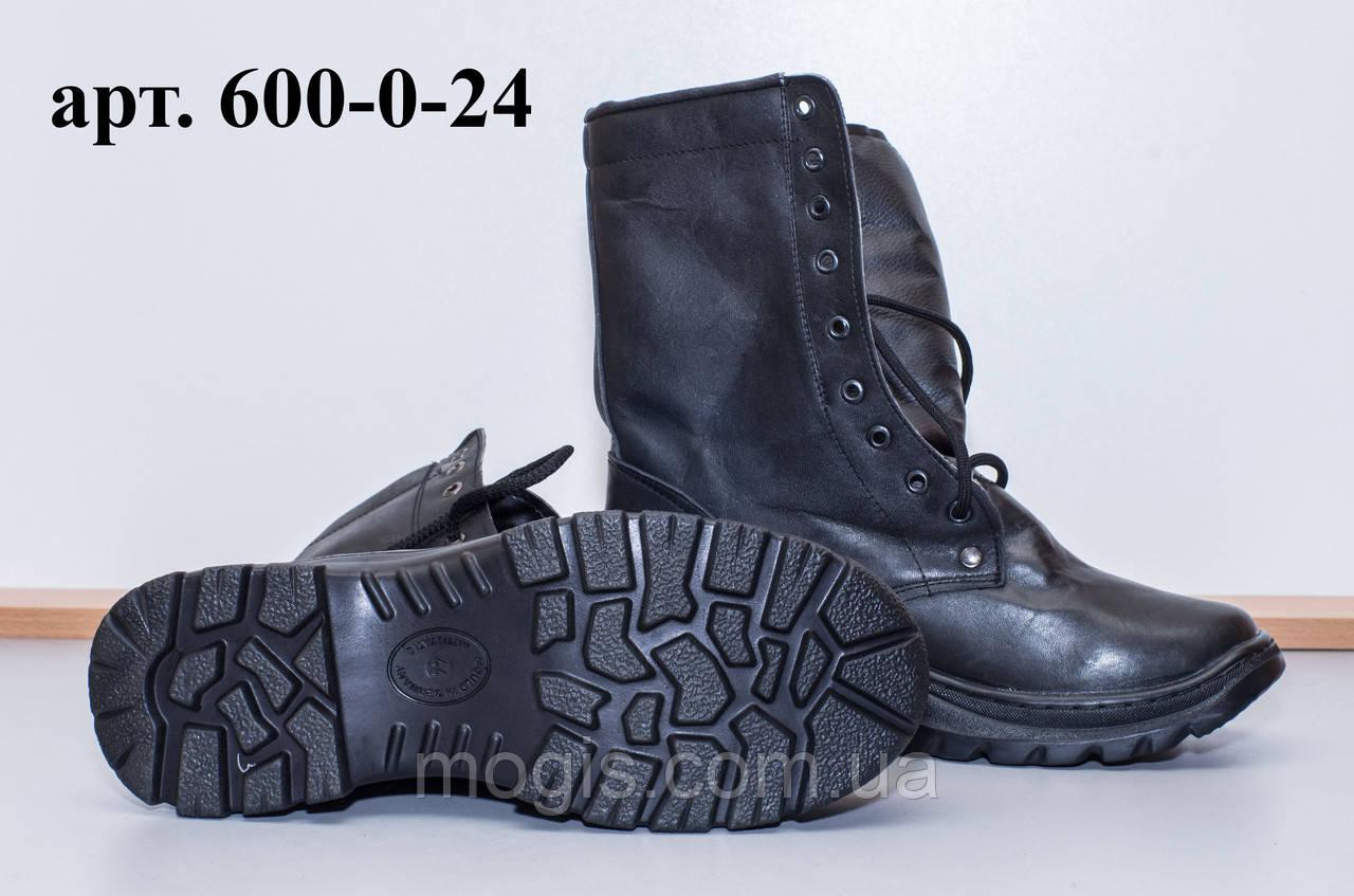 Ботинки «ОМОН-Л кожа» облегченные (спецобувь летняя)