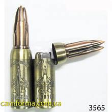 Зажигалка сувенирная  патрон арт (3565)