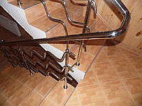 Перила для лестницы из нержавейки