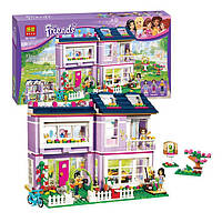 "Конструктор Bela Friends 10541 ""Дом Эммы"" (аналог LEGO Friends 41095), 731 деталь"