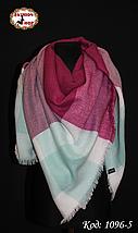 Стильный шерстяной платок плед, фото 2