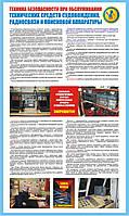 Стенд. Техника безопасности при обслуживании технических средств судовождения, радиосвязи и поисковой аппарату