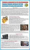Стенд. Техника безопасности при обслуживании главных машин, паровых котлов и вспомогательных механизмов рыбных