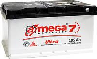 Аккумулятор автомобильный  6CТ-105Ач. 960A. A-MEGA  ULTRA (M7)