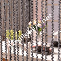 Занавески с нитей - спираль
