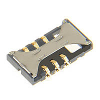 Connector SIM-card for mobile phones SAMSUNG B5722/ S5670/ S5830/ S5830i/ S8300