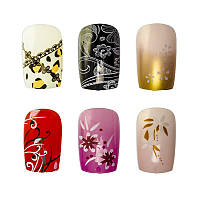 Накладные ногти Knail №A002-3 цветные