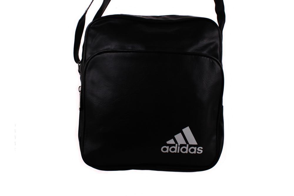 Спортивная сумка Adidas через плечо черная