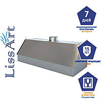 Зонт кухонный вытяжной пристенный из оцинкованной стали без жироулавливающего фильтра