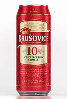 Пиво Krusovice светлое 0.5 л 10% ж/б Крушовице