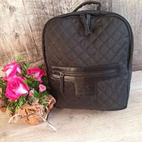 Женский рюкзак chanel ранец портфель сумка ткань тканевый шанель