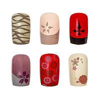 Накладные ногти Knail №A002-4 цветные