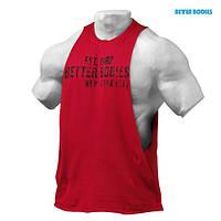 Спортивна майка Better Bodies Graphic logo Sleevless, Jester Red