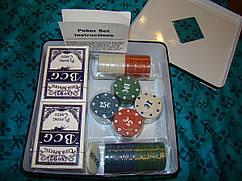 Набор для покера  100 фишек