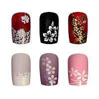 Накладные ногти Knail №A002-6 цветные