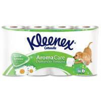 Туалетная бумага Kleenex Ромашка 3-слойная 8 шт (5029053545097)