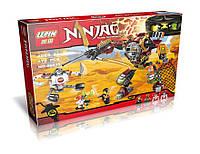 Конструктор Ниндзя 06035 (аналог Лего Ниндзяго), 478 деталей