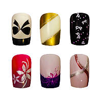Накладные ногти Knail №A002-8 цветные