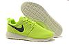 Кроссовки женские Nike Roshe Run low (light green/black) - 13Z .