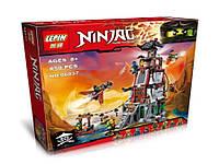 Конструктор Ниндзя 06037 (аналог Лего Ниндзяго), 850 деталей