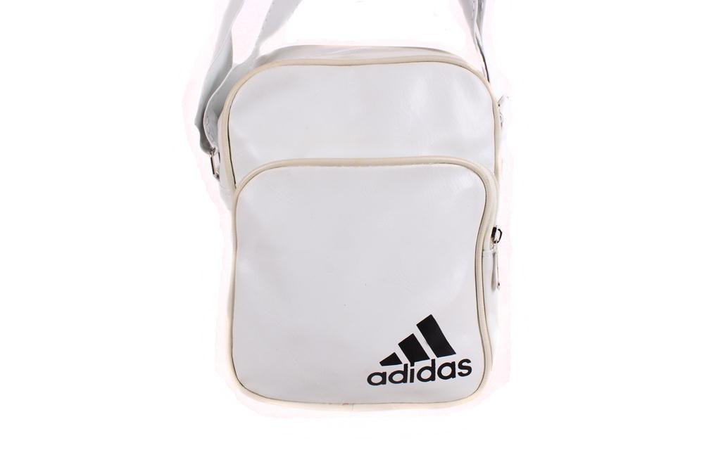 Спортивная сумка Adidas через плечо белая
