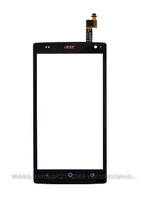 Тачскрин (сенсор) Acer Z150 liquid Z5 DualSim, black (чёрный), фото 2