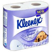 Туалетная бумага Kleenex Premium Comfort 4-слойная 4 шт (5029053033914)