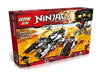 Конструктор Ниндзя 06038 (аналог Лего Ниндзяго), 1167 деталей
