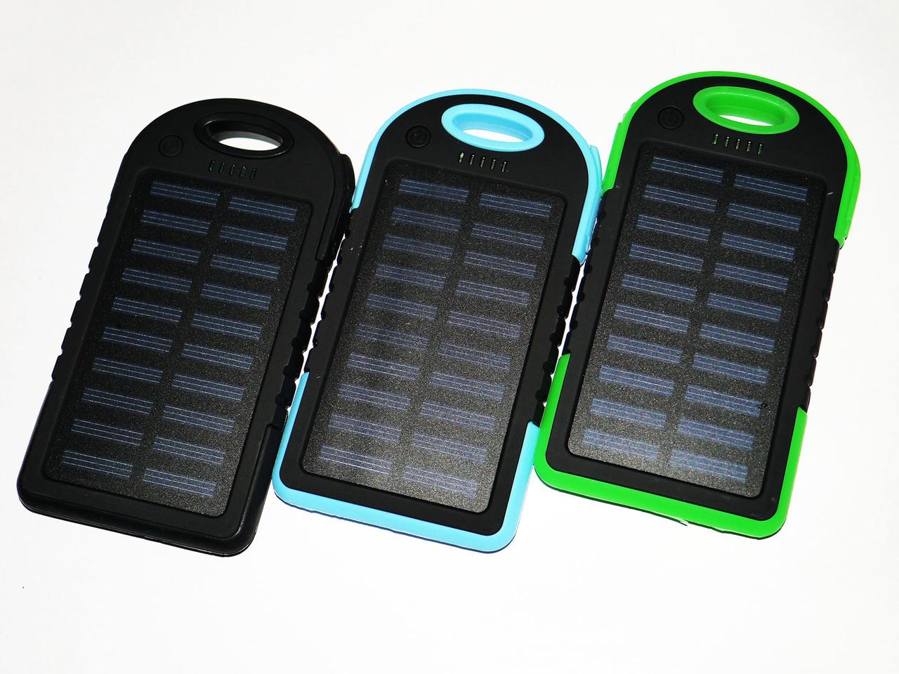 Power Bank UKC 10800mah 2 в 1 Solar+Led  Портативное зарядное устройство