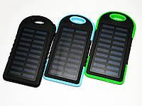Power Bank UKC 10800mah 2 в 1 Solar+Led  Портативное зарядное устройство, фото 1