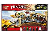 Конструктор Ниндзя 06039 (аналог Лего Ниндзяго), 1351 деталь