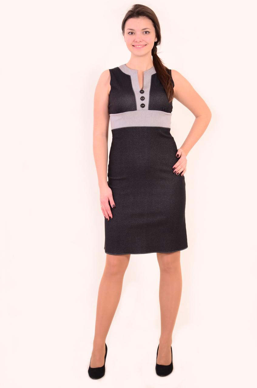 Сарафан женский , из стрейч джинса , пл 039-3, молодежный, одежда для офиса,летние платья +и сарафаны.