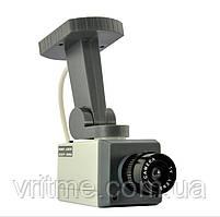 Автоматическая Поворотная камера муляж с датчиком движения Realistic Looking Security Camera