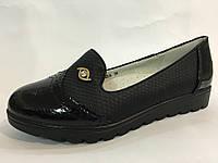 Туфли Том.м р 33-21.4 см, 37-23.2 см черные
